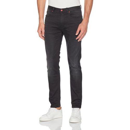Hugo Men mężczyźni Straight dżinsy, kolor: czarny, rozmiar: W34/L32, proste