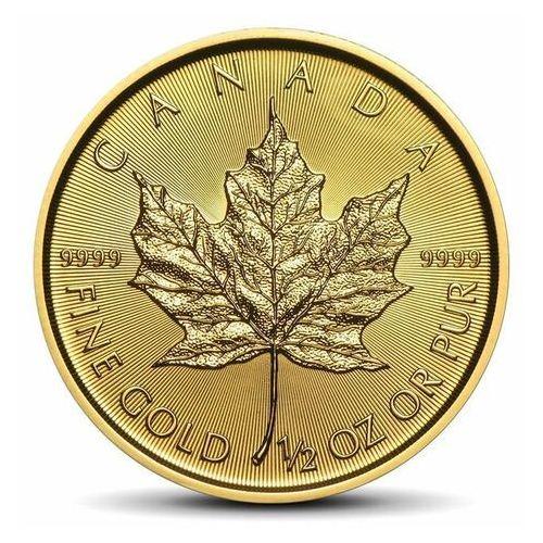 Kanadyjski liść klonowy 1/2 uncji złota - 15dni marki Royal canadian mint