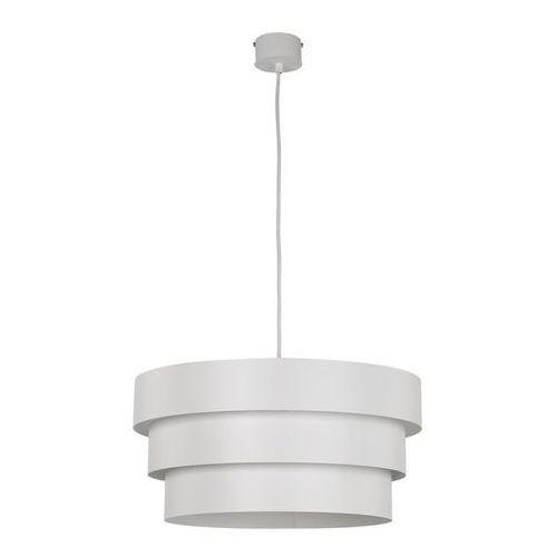 Lampa wisząca Sigma GS biała okrągła ringi metal, 30696