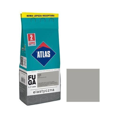 Fuga cementowa 035 szary 2 kg ATLAS (5905400273724)
