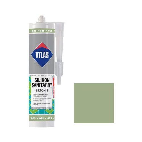 Atlas Silikon sanitarny 025 jasny zielony (5905400277159)