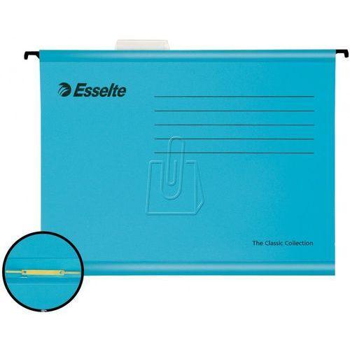 Teczka zawieszana Pendaflex Esselte niebieska z mechanizmem skoroszytowym, BP813186