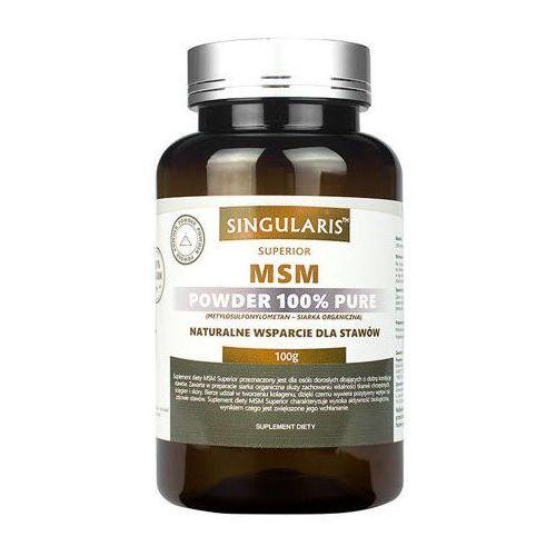 SINGULARIS MSM Superior powder 100g