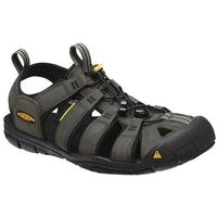 Keen Sandały clearwater cnx leather men - magnet/black