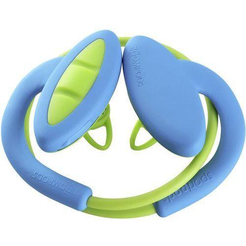 Słuchawki dokanałowe BOOMPODS Sportpods 2 Niebiesko-zielony