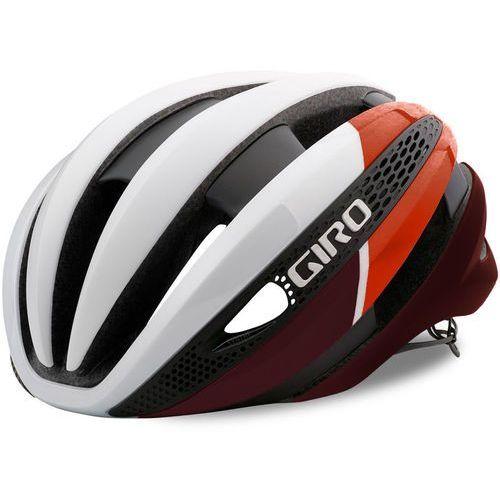 Giro Synthe MIPS Kask rowerowy czerwony/biały L | 59-63cm 2018 Kaski rowerowe (0768686075896)