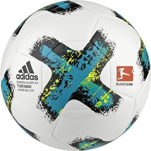 Adidas Piłka halowa  bundesliga torfabrik junior sala 290 bs3533