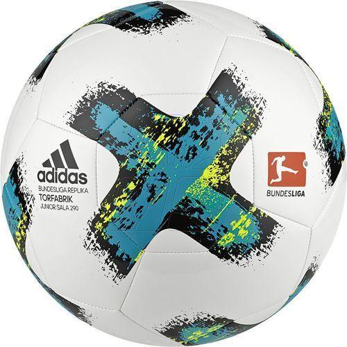Piłka halowa adidas Bundesliga Torfabrik Junior Sala 290 BS3533