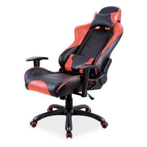 Fotel gamingowy Signal Q-109 - fotel dla gracza, czarno-czerwony, DOSTAWA GRATIS, Signal
