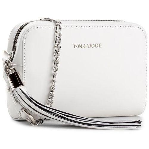Torebka BELLUCCI - R-343 Bianco, kolor biały