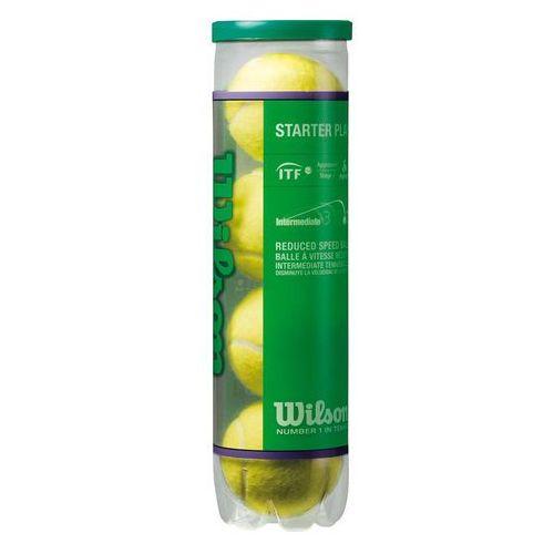 Piłki tenis ziemny Wilson Starter Play 4 sztuki 137400 (2010000281642)