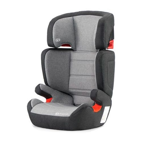 Kinderkraft fotelik samochodowy junior-fix black/grey (5902533910700)