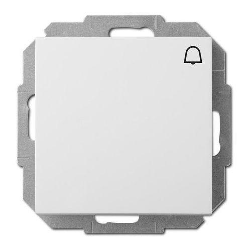 Przycisk dzwonek Elektro-Plast Sentia biały (5906868430506)