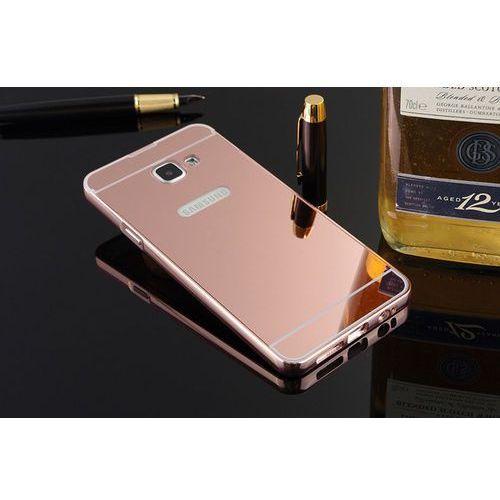 Mirror Bumper Metal Case Różowy | Etui dla Samsung Galaxy A3 (2016) - Różowy
