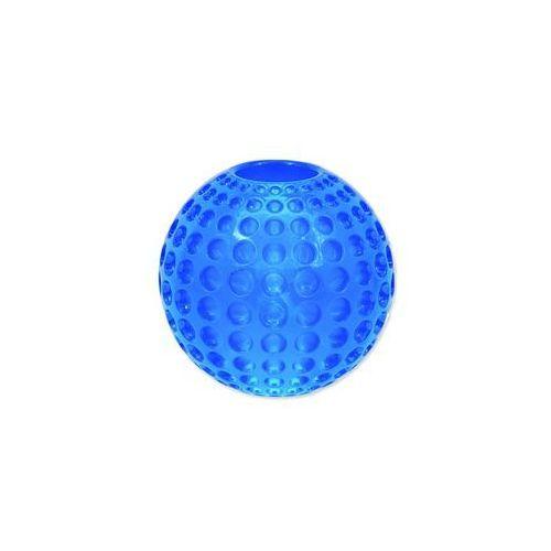 Plaček Zabawka dog fantasy strong piłeczka gumowa z wgłębieniami niebieska 9,5 cm