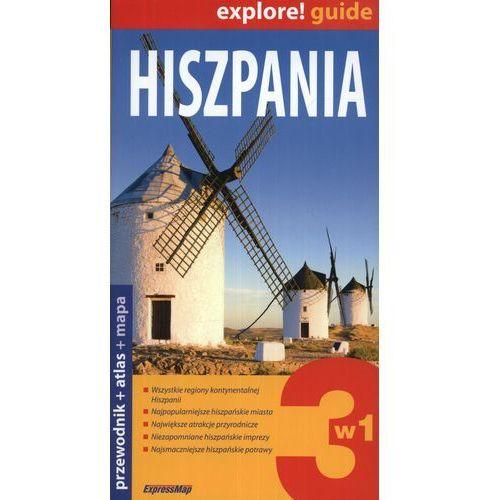 Hiszpania 3w1 - przewodnik + atlas + mapa laminowana (praca zbiorowa)