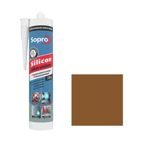 Silikon sanitarny Sopro umbra 58 310 ml, 232/310ML