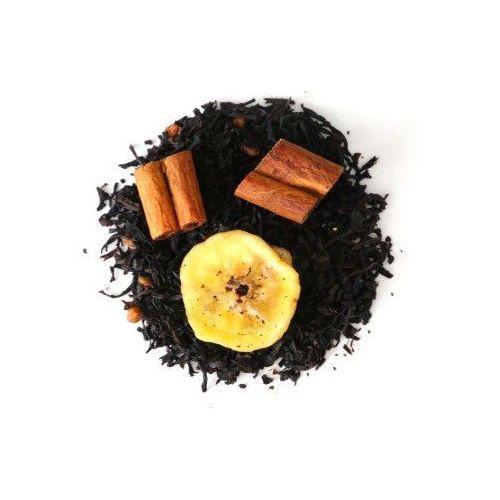Herbata czarna o smaku banan w cynamonie 150g