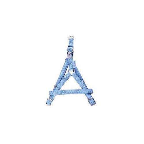 Zolux Szelki regulowane Mac Leather 20mm Niebieskie [522060BL] (3336025220602)