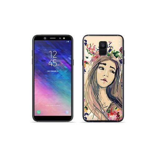 Samsung Galaxy A6 (2018) - etui na telefon Fantastic Case - kolorowy wianek, kolor wielokolorowy