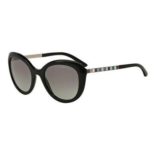 Okulary Słoneczne Giorgio Armani AR8065HF Asian Fit 501711, kolor żółty