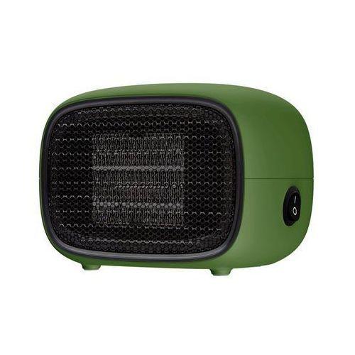 Baseus warm little white fan | termowentylator farelka mini grzejnik moc 500w | zielon - zielony (6953156210745)