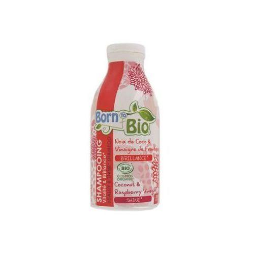 Shine & vitality szampon wzmacniający z olejem kokosowym 300ml marki Born to bio