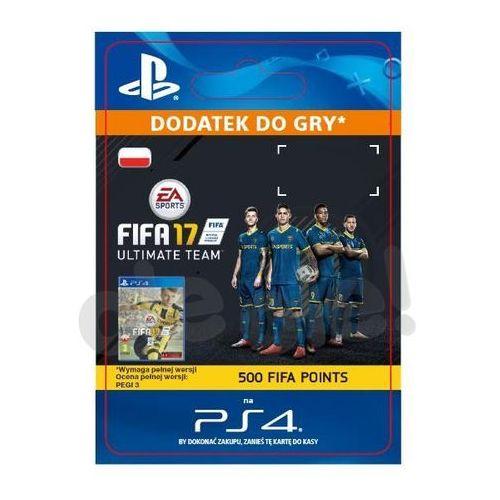 Fifa 17 500 punktów [kod aktywacyjny] marki Sony
