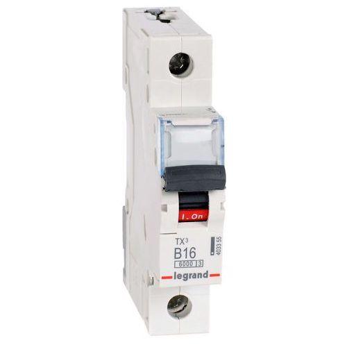 Wyłącznik nadprądowy Legrand 1P B 16A 6kA AC S301 605510/403357 (3245066055107)