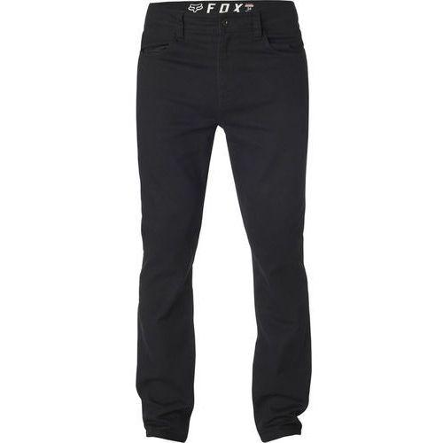 Fox dagger skinny spodnie chino mężczyźni, black us 34 2019 szorty i spodnie