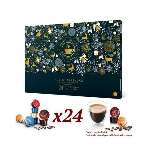 Poznajsmaki.pl Blackweek tchibo - kalendarz adwentowy z kawą tchibo w kapsułkach cafissimo firm tchibo i caffitaly 2019 (5907813306020)