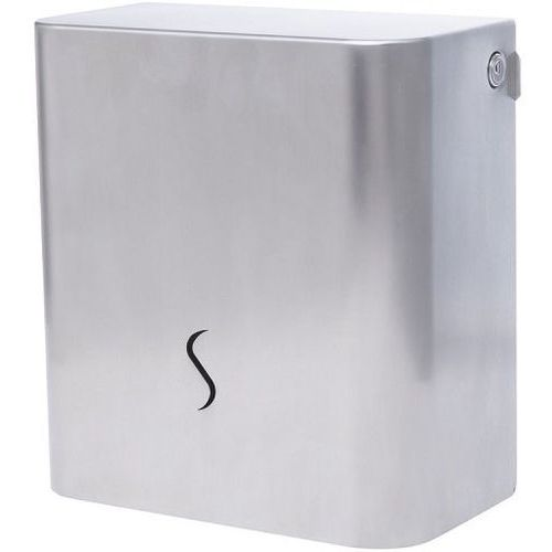 Pojemnik na papier toaletowy luna   rola ø 19cm   trzpień 56mm   230x120x(h)250mm marki Xxlselect