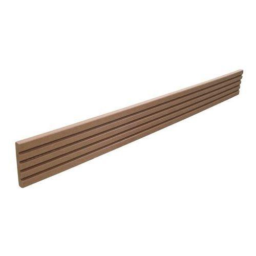 Listwa tarasowa kompozytowa Blooma 8 x 52 x 2200 mm redwood