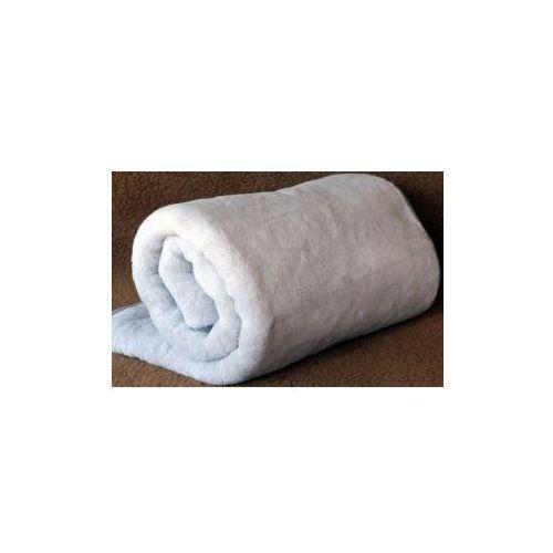Alpaca 160x200cm szary koc wełniany (5902497103170)