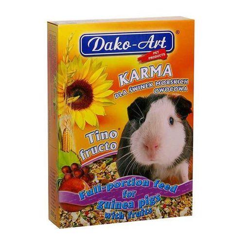 Dako-art  tino fructo - pełnowartościowy pokarm dla świnek morskich 500g