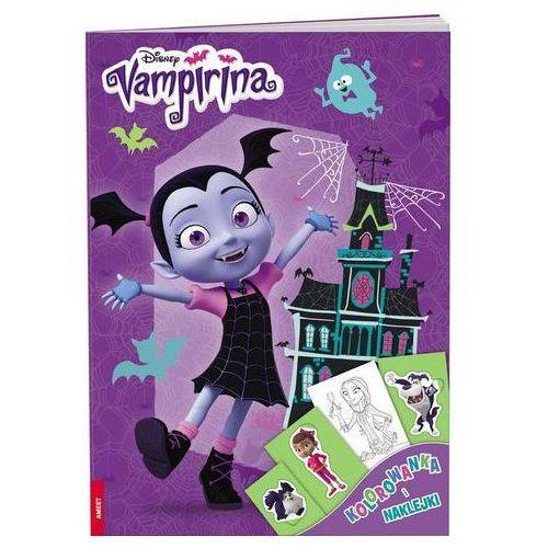 Praca zbiorowa Vampirina kolorowanka i naklejki dpn-33 - jeśli zamówisz do 14:00, wyślemy tego samego dnia.
