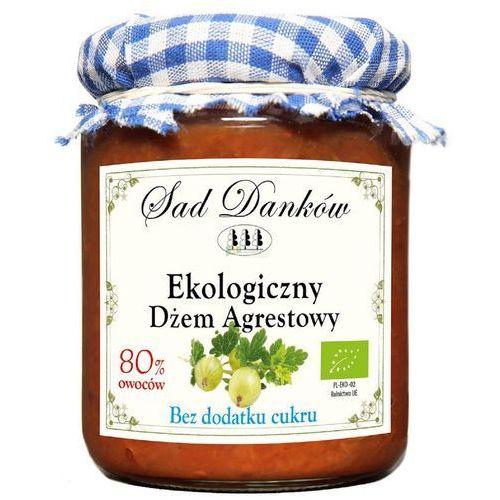 Sad danków Dżem agrestowy ekologiczny bez cukru 260g bio eko