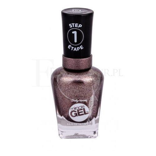 Sally hansen miracle gel step1 lakier do paznokci 14,7 ml dla kobiet 204 adrenaline crush
