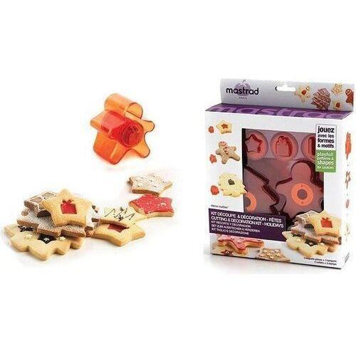 Foremki i stemple do ciastek w zestawie Mastrad
