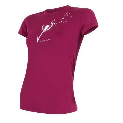 Sensor Bielizna termoaktywna pt coolmax fresh women's t-shirt short sleeves purpurowa s