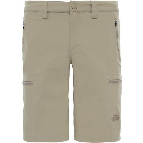 Shorty The North Face Exploration T0CL9S254, kolor beżowy