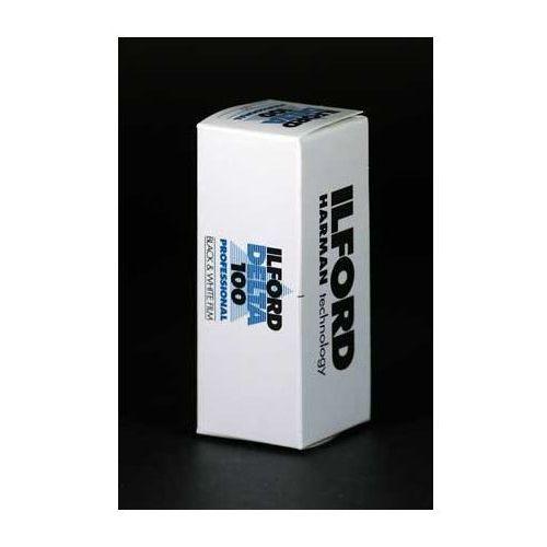 delta 100 120 negatyw czarno-biały marki Ilford