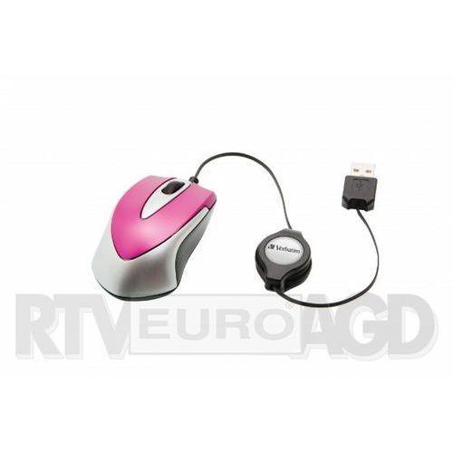 Verbatim go mini 49021 (biało-różowy)