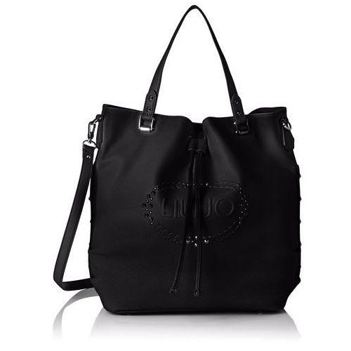 Liu Jo damska LUCCIOLA Basket Bag torba na ramię, 16 x 33 x 32 cm, kolor: czarny (czarny), rozmiar: jeden rozmiar, A17114E0027