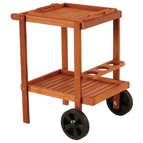 Barek ogrodowy drewniany HOME&GARDEN Meranti + DARMOWY TRANSPORT! (5902425320594)