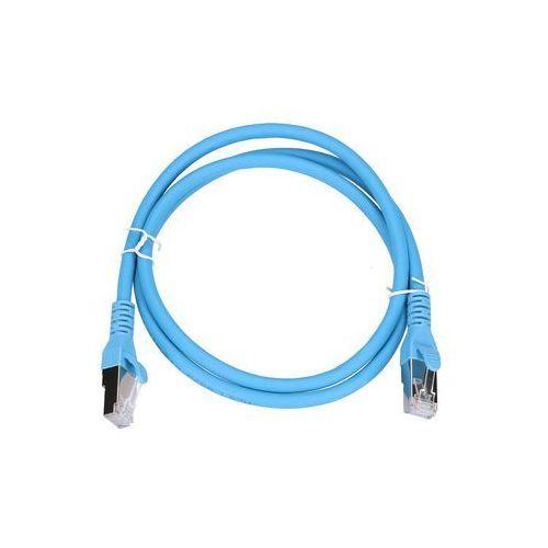 Extralink patchcord lan kat.6a s/ftp 10gbit/s 1m miedź kabel sieciowy skrętka (5902560366556)