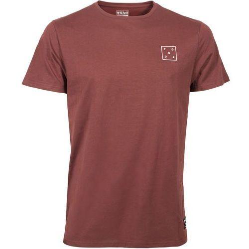 box koszulka mężczyźni, oxblood m 2019 koszulki marki Tsg