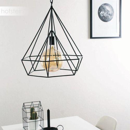 Steinhauer Mexlite Lampa Wisząca Czarny, 1-punktowy - Design - Obszar wewnętrzny - Mexlite - Czas dostawy: od 10-14 dni roboczych