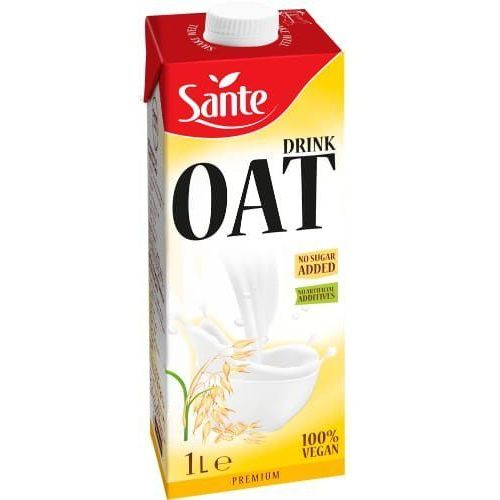 Napój owsiany bez dodatku cukru 1L - Sante, 5900617035356