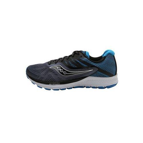 Saucony RIDE 10 Obuwie do biegania treningowe grey/black/blue (0884401800113)